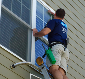 Whether you like to have a regularly scheduled window cleaning service or just need a one time cleaning for a special event